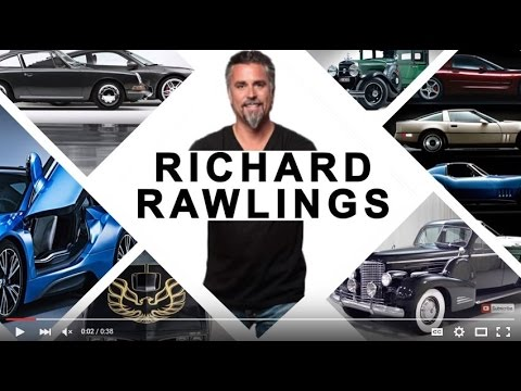 Richard Rawlings Interview at Barrett Jackson Inside Universal Promo Trans Am