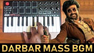 Darbar Mass Teaser Bgm Ringtone By Raj Bharath | SuperStar Rajinikanth | Anirudh