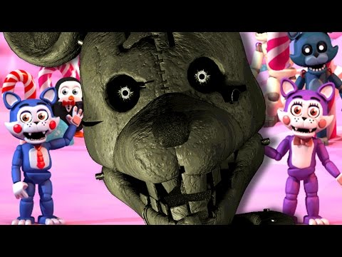 RAT JOINS OUR TEAM! | Five Nights At Candy's World (FNaF World Fangame)