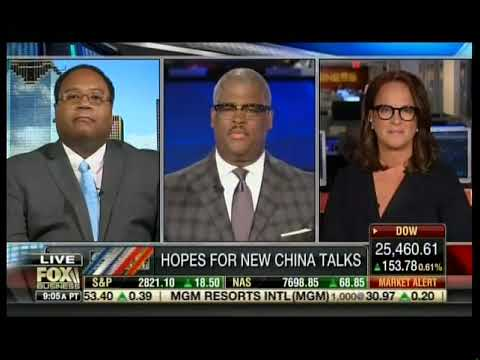 Horace Cooper Discusses China and the Economy on Fox Business ...
