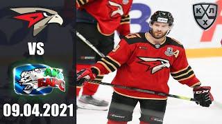 АВАНГАРД - АК БАРС (09.04.2021)/ ПЛЕЙ-ОФФ КХЛ/ KHL В NHL 20 ОБЗОР МАТЧА