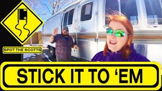 SpotTheScotts: DECALS for our Rigs & DEAD Airstream?! ~ RV Life! {#242}