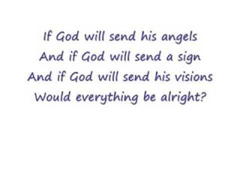 If God Will Send His Angels U2 Lyrics