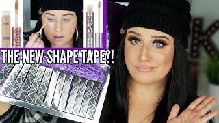 NEW URBAN DECAY ALL NIGHTER CONCEALER REVIEW | The NEW Tarte Shape Tape?!