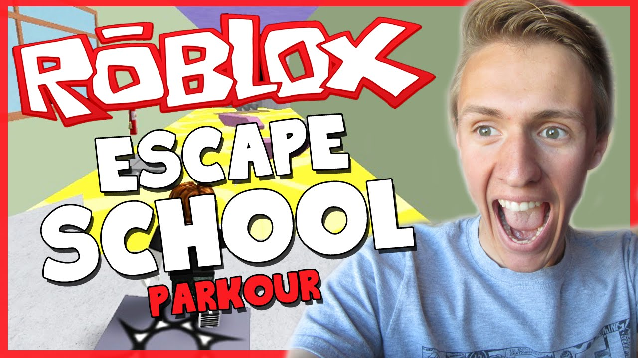 Roblox Escape School Awesome Parkour Map Funny Moments