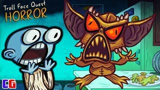 TROLL OF HORROR! Terrible TROLLFACE in the Game Troll Face Quest Horror from Cool GAMES