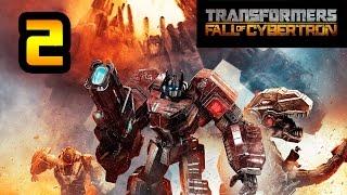 Transformers: La Caída de Cybertron | Capítulo 2 | Optimus Prime | Defiende el Arca