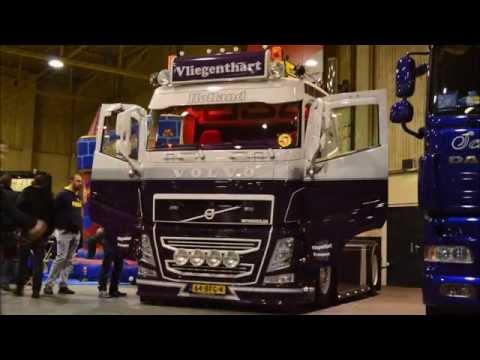 NEW Vliegenthart Volvo FH Holland - eindejaarsfestijn 2014 - YouTube
