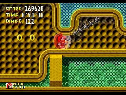 Sonic 1 Megamix (Genesis) - Mighty Longplay Part 2