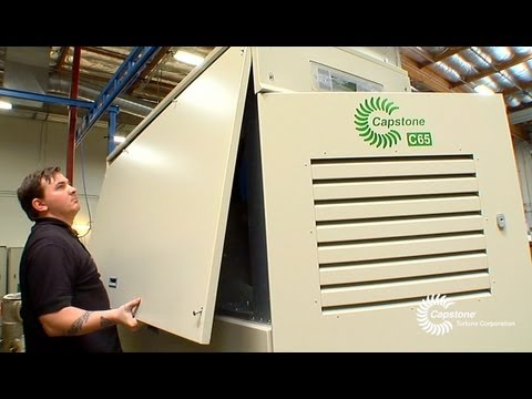 Capstone Turbine - Innovation in Clean and Green Energy (English)