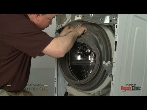 Washer Door Boot Seal Replacement- Whirlpool Model #WFW72HEDW0