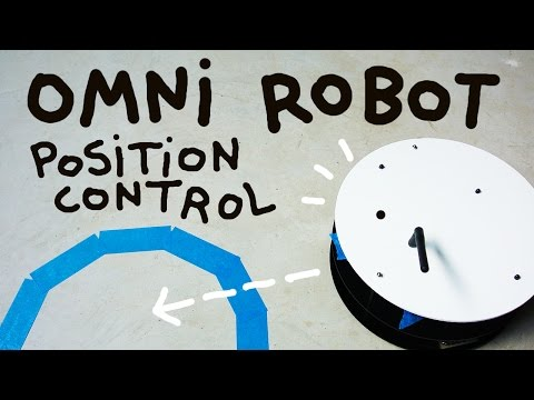 Omni Wheel Robot part 2: Position control and tracking