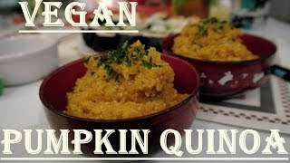 Pumpkin And Quinoa Soup - Vegan Yum