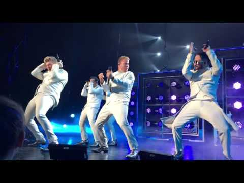 Backstreet Boys Larger than Life opening 4/28/2017