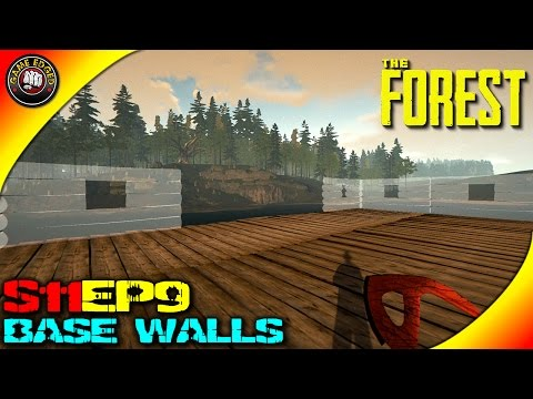 The Forest Gameplay - Base Wall Layout - S11EP9 (Alpha V0.29)