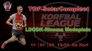 TOP/SolarCompleet 1 tegen LDODK/Rinsma Mode Plein 1, zaterdag 11 januari 2020