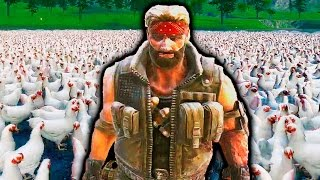 ЧАК НОРРИС ПРОТИВ 1000000 КУРИЦ! - УБИТЬ ЧАКА ЧЕЛЛЕНДЖ -  Ultimate Epic Battle Simulator