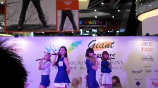 Skarf - Oh! Dance and My Love live @ Bugis+ 021012