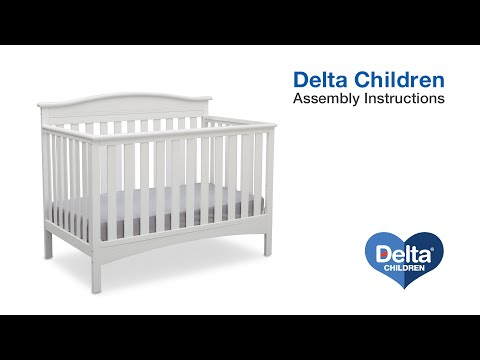 Delta Children Baker 4-in-1 Crib Assembly Video