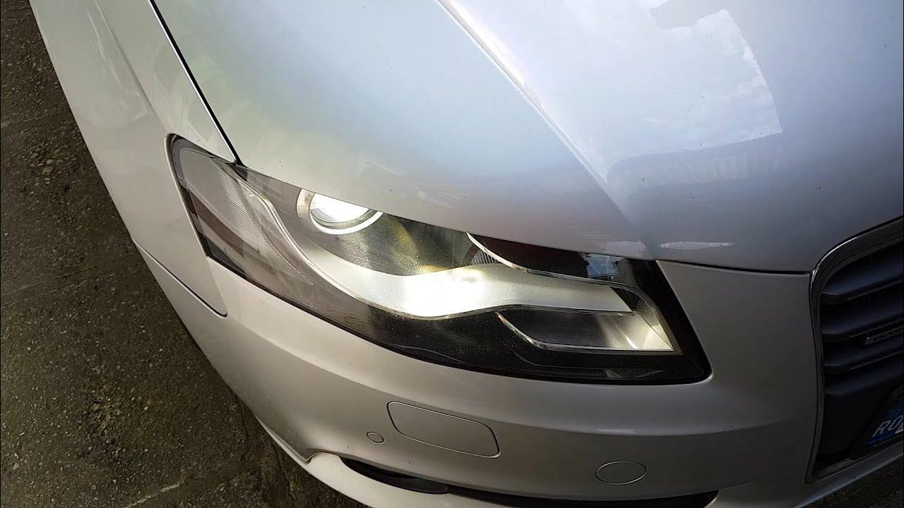 Audi A4 B8 How To Change Xenon Headlight Bulbs