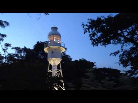 Lighthouse shines again @ Fort Canning Park Singapore