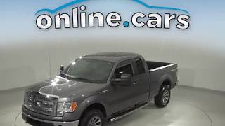 A10614GT Used 2014 Ford F-150 XLT 4WD Gray Test Drive, Review, For Sale
