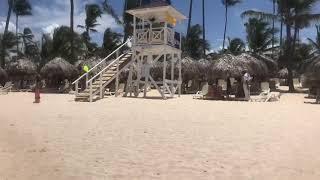 Beach ruined Punta cana 2018