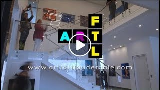 "2019 Art Fort Lauderdale - ""The Art Fair On The Water"" Recap"