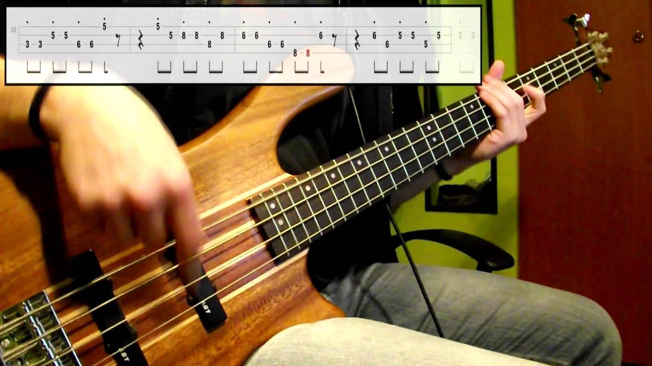 stevie master blaster jammin bass cover play tabs video youtube