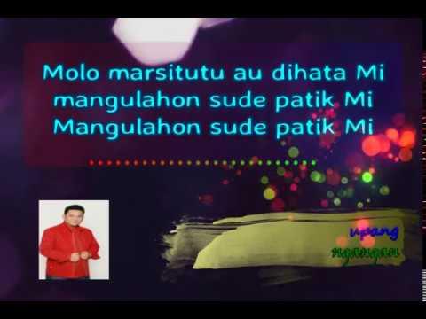 Arvindo Simatupang, Adong do halongangan, lirik lagu