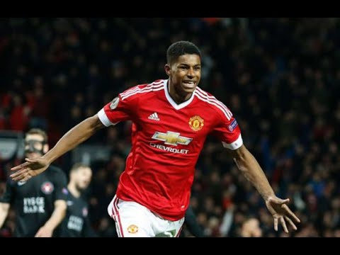 Marcus Rashford rescues Manchester United with brace in career debut