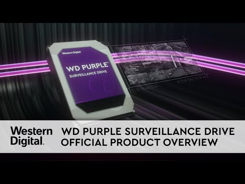 WD Purple Surveillance Serisi