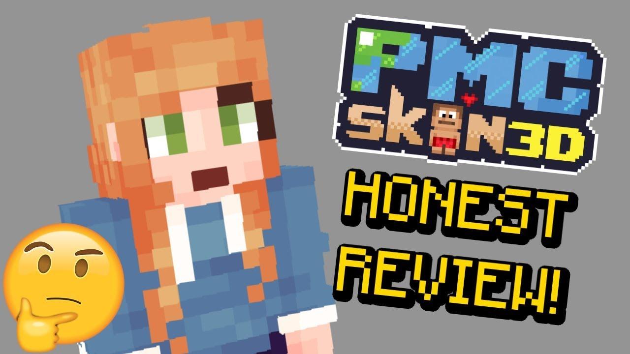 NEW Minecraft Skin Program - PMCskin12D HONEST REVIEW and Skin Test!