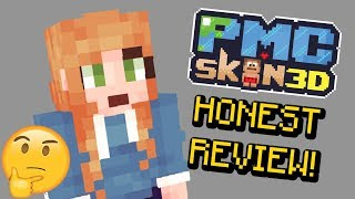 NEW Minecraft Skin Program - PMCskin3D HONEST REVIEW and Skin Test!