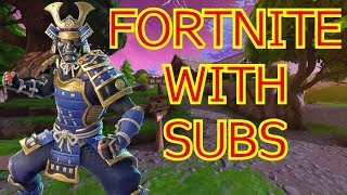 Fortnite with Subs: Giving Away a Chance for you To type in Creator Code Orseofkorse1!! :)