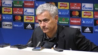 Manchester United 3-0 FC Basel - Jose Mourinho Full Post Match Press Conference - Champions League