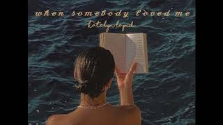 Download Mp3 When Somebody Loved Me - Katelyn Lapid