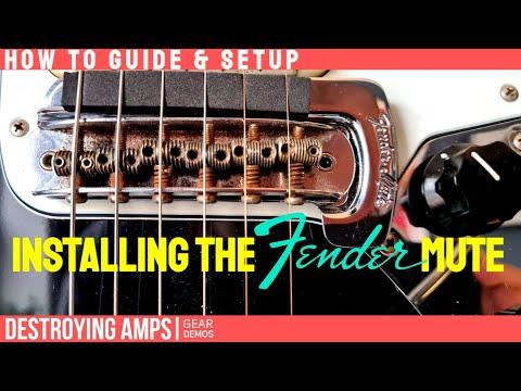 HOW TO – Install a Fender Jaguar Mute + SETUP TIPS