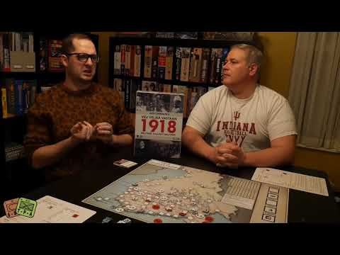 Review: 1918 Brother Against Brother from Linden Lake Games - The Players' Aid