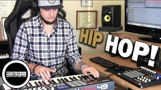 Hip-Hop Beat Making Video