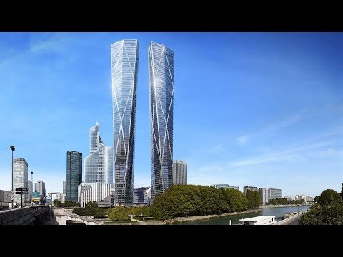 France's Twin Towers: Hermitage Towers in Paris | Tallest Building in the European Union