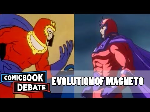 Evolution of Magneto in Cartoons in 6 Minutes 2017