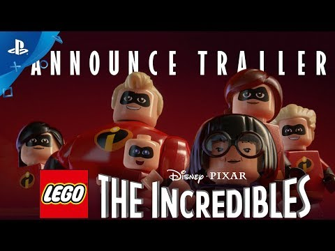 LEGO The Incredibles - Announce Trailer | PS4