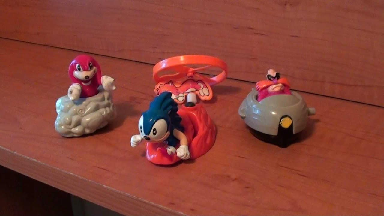 Mcd S Happy Meal Sonic The Hedgehog 1994 Youtube