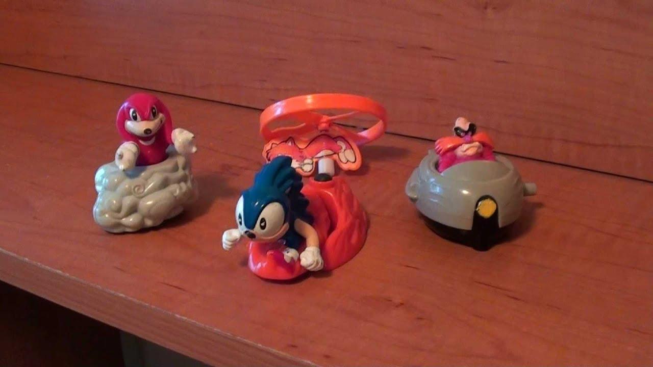 sonic the hedgehog 3 mcdonalds toys 2020