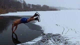 Зимнее купание 2013) Winter swimming in Voronezh)
