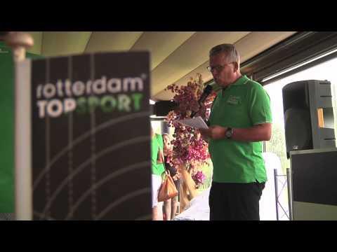 Rotterdam Topsport lancering HELDEN magazine op Golfdag 2015