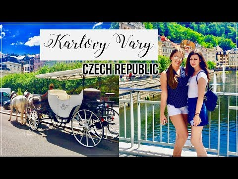 A Day Trip To Karlovy Vary, Czech Republic ☀️ | TRAVEL VLOG
