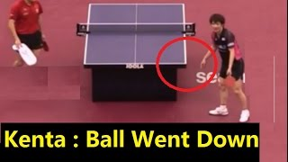 [TT is cruel sports] Showcase: Kenta -vs- Liang Edge/Side Ball,2013, 2017 (Compared to Tennis)