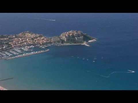 فرانس 24:A stroll through the Corsican city of Calvi, jewel of the Mediterranean